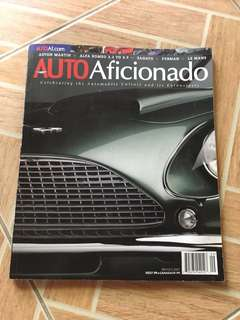 Auto Aficionado Sept/Oct 2007 issue