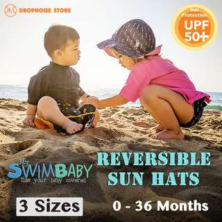 My Swim Baby Reversible UV Protection Sun Hats (0 to 3 Years Old) - https://goo.gl/7h8L2f