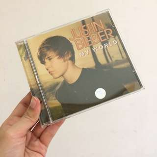 Justin bieber my world cd album