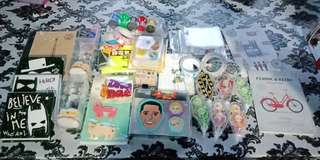 Kawaii school decorating and craft items