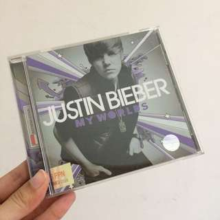Justin bieber my worlds cd album
