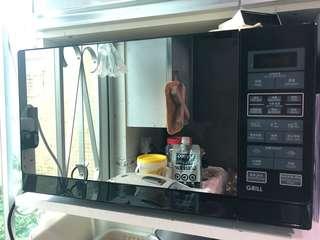 聲寶 Sharp R-730Z 25公升燒烤微波爐 Sharp R-730Z(K) 25Litres Microwave Oven with Grill