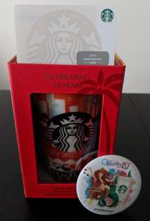 Starbucks Special Edition 20th Anniversary cup