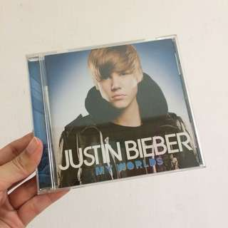Justin bieber my worlds japan ed cd album