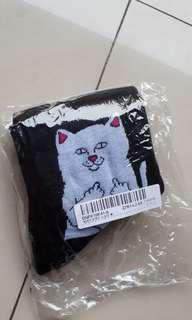 Rip n Dip Cat Socks Kaos Kaki Cowok Men