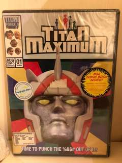Titan maximum complete season 1 dvd