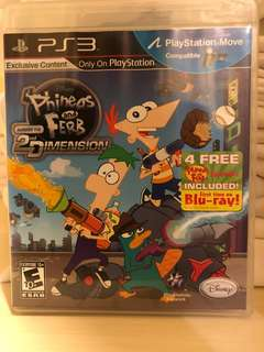 Phineas and Ferb Across The 2nd Dimension for Sony PS3