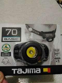 日本 田島 TAJIMA 頭燈 手電筒 工作燈 LED  高亮度 一個賣500