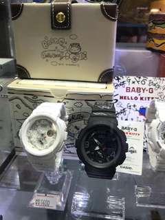 代購 香港🇭🇰 Hello Kitty 手表 Baby-G g-Shock BGA-190KT