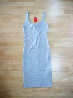 NEW bodycon grey dress