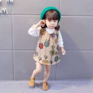 Girl set dress