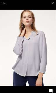 *PRICE DROP* Aritzia Babaton Rena Blouse