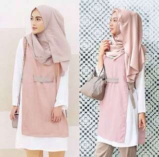 NO NEGO NEW Baju Vanilla hijab (uk S,pink)