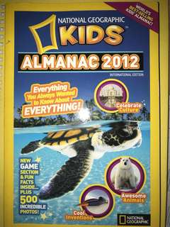 National Geographic Kids Almanac Book
