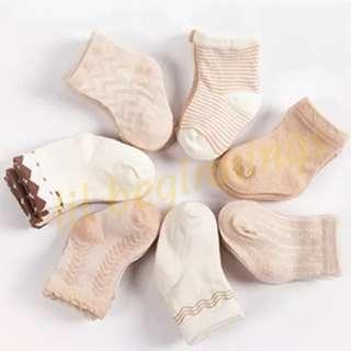 🚚 Baby Socks (3 pairs) Organic Cotton