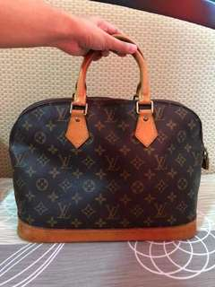 Louis Vuitton Alma PM Bag (AUTHENTIC from JAPAN)