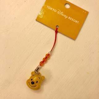 Winnie the Pooh 電話繩 東京迪士尼 Tokyo Disney Resort Disneyland