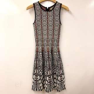斯文裙 Issa London black white red dress size XS