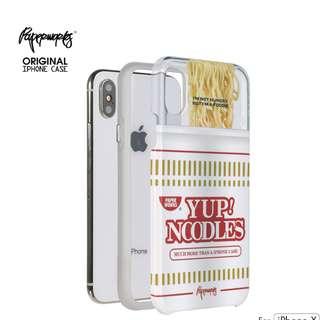 [PAPERWORKS]原創YUP NOODLES杯麵 iPhone X 全包邊手機殼
