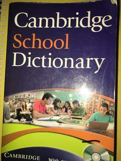 Cambridge English School Dictionary / Kamus Anak