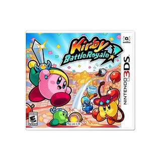N-3DS KIRBY : BATTLE ROYALE
