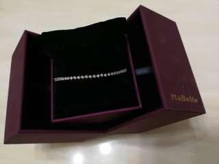 MaBelle 18K 鑽石手鏈