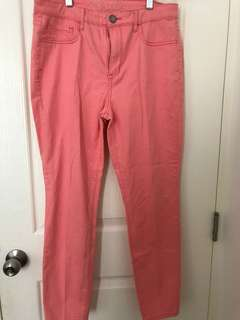 ✨Repriced✨ Aeropostale Peach High Waisted Ankle Jegging
