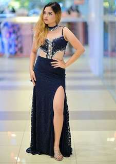 Gown for sale navy blue