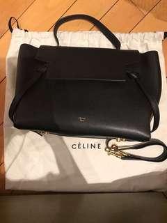 Celine belt mini black