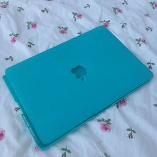 "MacBook Pro 13"" Cover - Rose Gold / Tiffany Blue Case Casing"