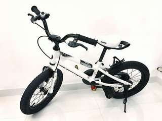 "Royal Baby 14"" White Bicycle for Sale"