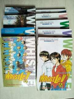 Komik Whistle. vol 13-24