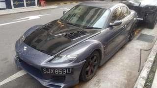 Mazda RX 8 1.3A 2008 Carbon bonet