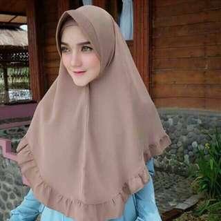 Khimar jilbab pet rempel hijab rempel khimar