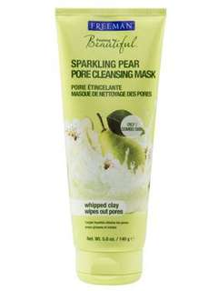 FREEMAN FACIAL SPARKLING PEAR PORE CLEANSING MASK 140GRAM
