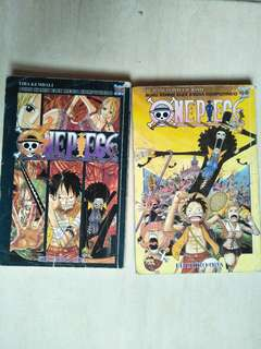 Komik One Piece. vol 46 & 50