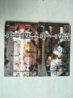 Komik Death Note. vol 10-11