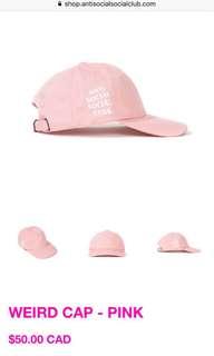 Anti social social club Weird Hat
