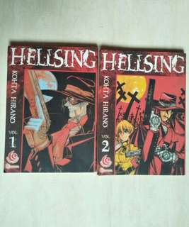 Komik Hellsing. vol 1-2