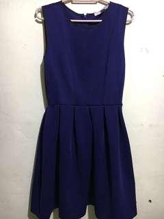 F21 Navy Blue Dress