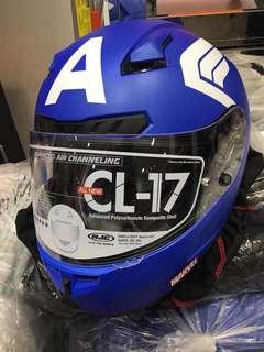HJC CL-17 Captain America helmet