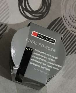 Nichido final powder