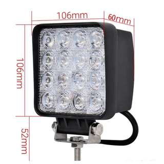 48W 4inch Waterproof Light For Car Motorcycle(#29-48w)