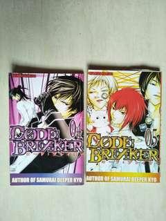 Komik Code:Breaker. vol 4-5