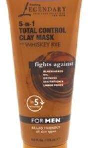 FREEMAN FOR MEN 5-IN-1 TOTAL CONTROL CLAY MASK 175ML