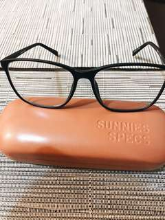 Sunnies Specs Kinley Charcoal Color