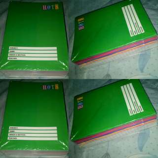NOTEBOOKS 10 FOR 120 ONLY