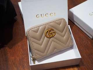 G U C C I . Wallet mini (khaki)