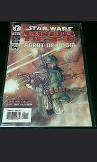 Star wars boba fett comic book