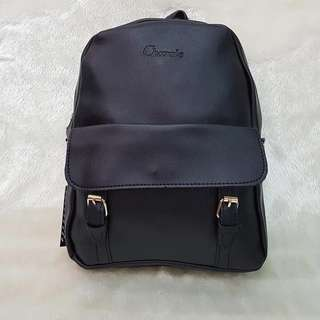 Two-way Leather Backpack/Sling